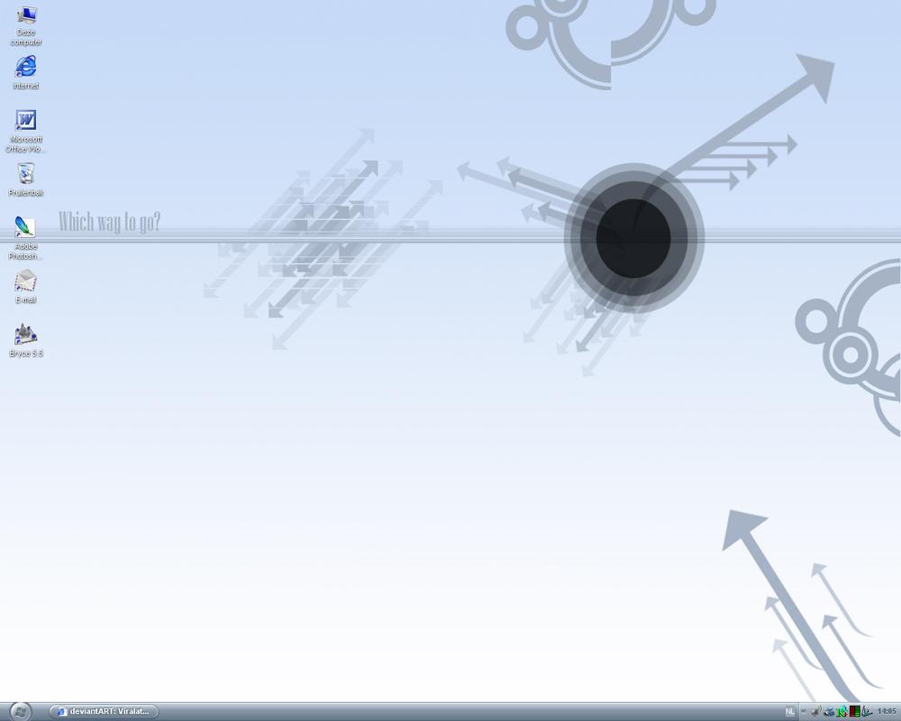 my desktop II by ViralattackX