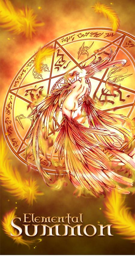 Fiery Summon by MikoElesil
