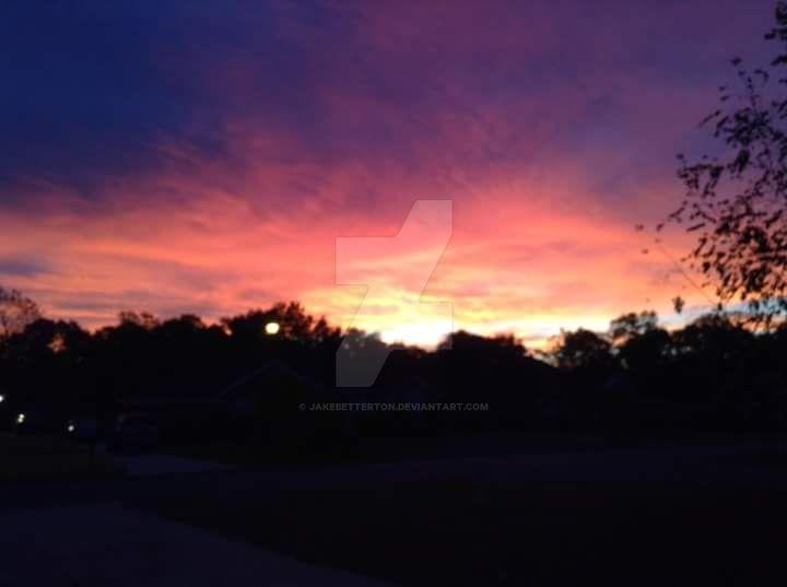 Purple Skies by jakebetterton