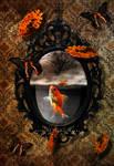 Goldfish Flying Leaves