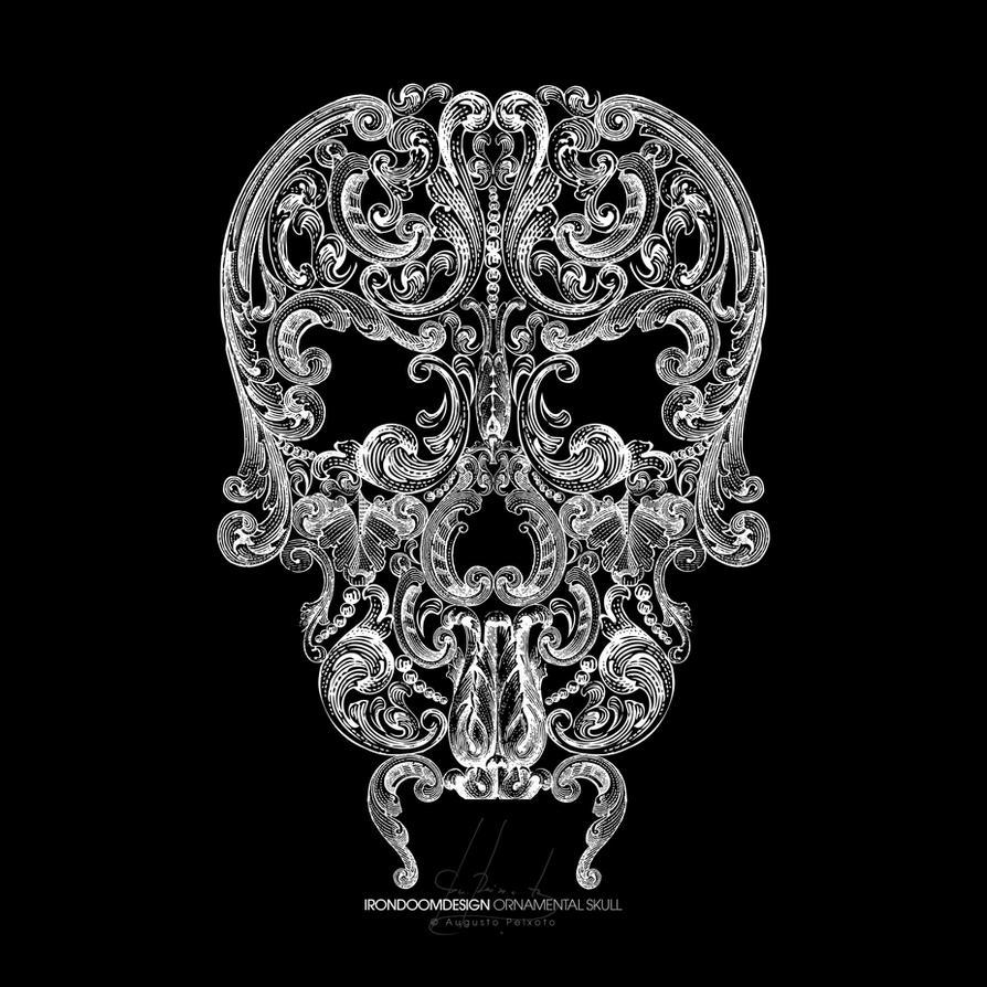 Ornamental Skull by IrondoomDesign