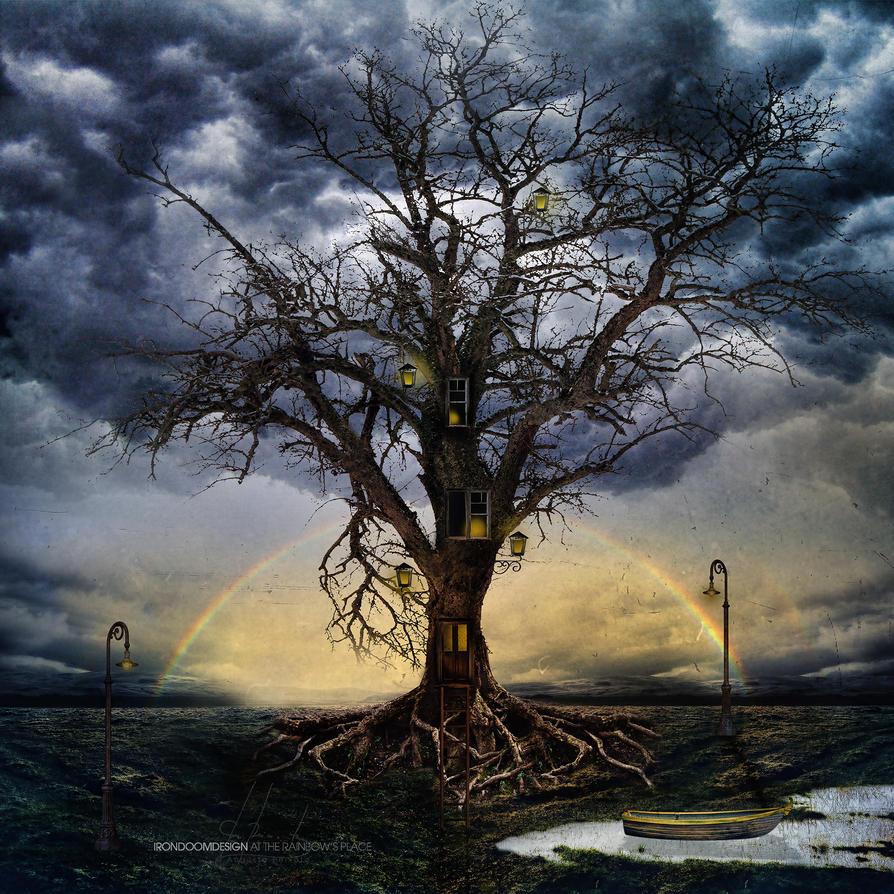 UN DESCANSO EN EL CAMINO - Página 2 At_the_rainbow_s_place_by_irondoomdesign-d5v6pev