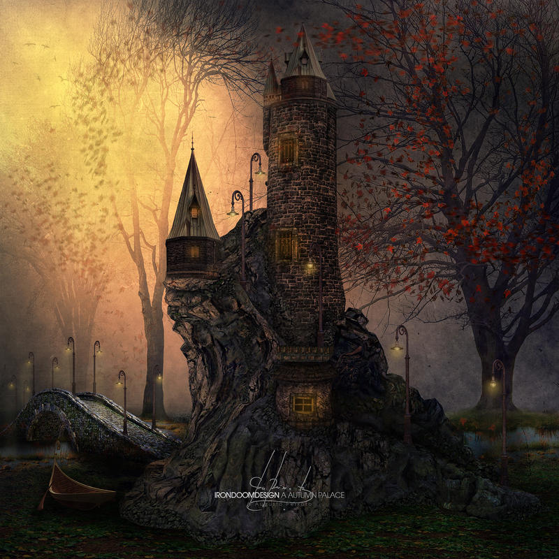 A Autumn Palace by IrondoomDesign