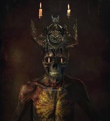 Demon God by IrondoomDesign