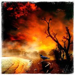 Autumn Reflection by IrondoomDesign