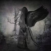 Dark  Angel Of Funerary Souvenirs