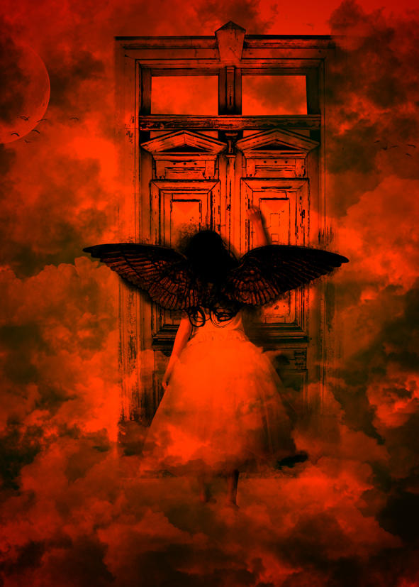 Knocking On Hells Door by IrondoomDesign ... & Knocking On Hells Door by IrondoomDesign on DeviantArt Pezcame.Com