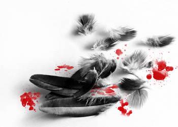 Feather's Pain by IrondoomDesign