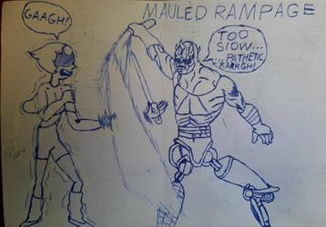 Maul's Return Arc (Gem Wars Sketch)