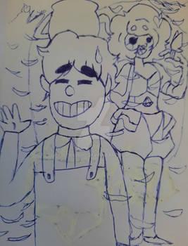 Doodle and Chibi autumn