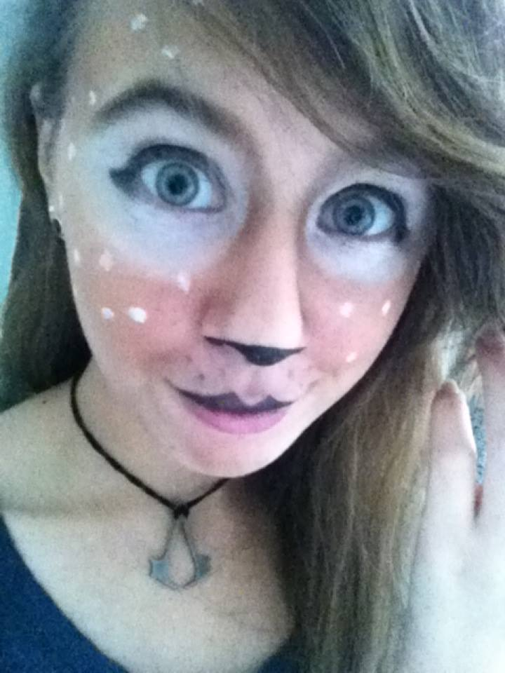 Fawn makeup :D by NeonxStitches on DeviantArt
