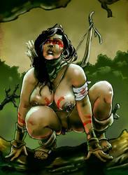 Huntress of Tci'Bala by Sakanaj