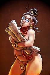 Scrollkeeper of Moebia by Sakanaj