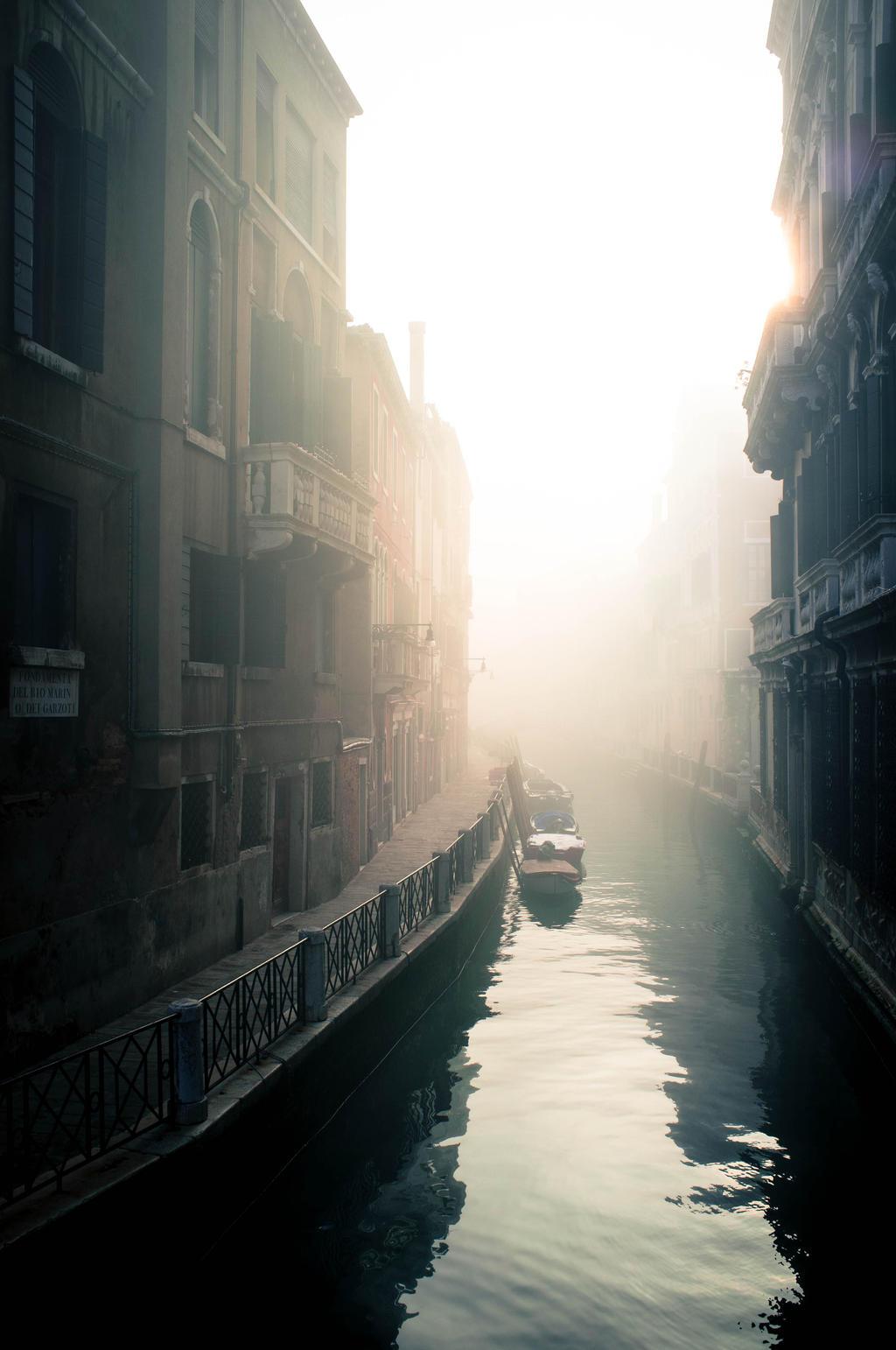 As the Fog Rolls In by jannettella