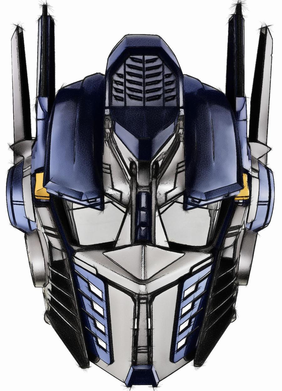 optimus prime head 2 by LocoHill on DeviantArt  optimus prime h...