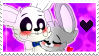 White Rabbit X Rachel Stamp by xConnieBearx