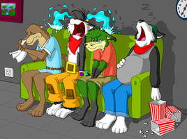 Watching A Movie by WinDasH