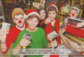 All I want for Christmas is you|One Direction edit