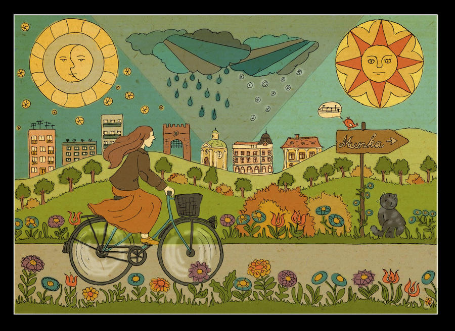 Bike to work by Hemhet
