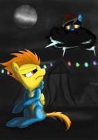 Nightmare Oops! by JayZonSketch
