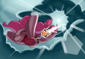 Pinkie Joy Ride by JayZonSketch