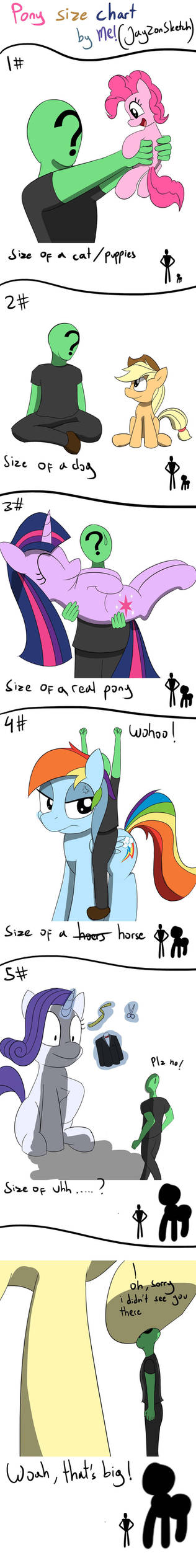 Size of Ponies