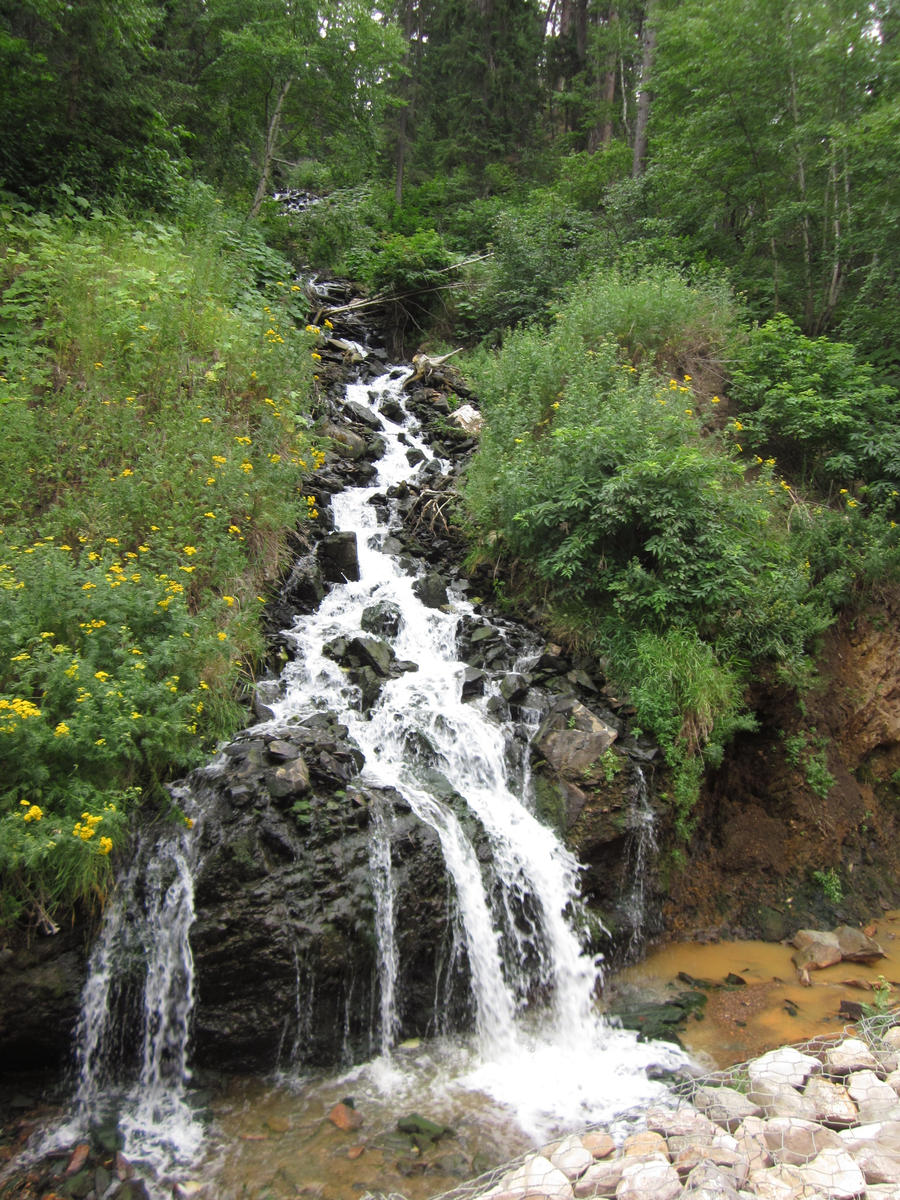 Pretty Small Waterfall By Kagomeandsesshomaru9 On Deviantart