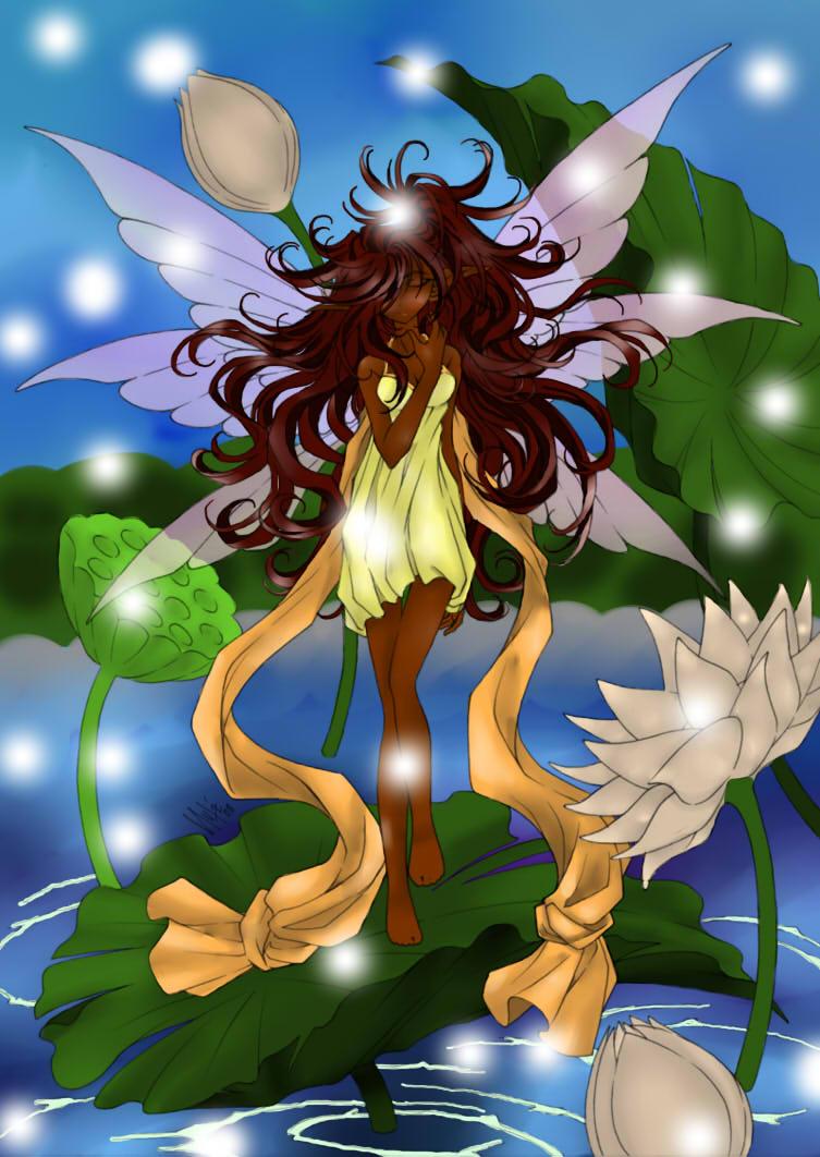 Pond fairy. by AngieMP