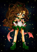 Sailor Jupiter by AngieMP