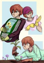 Gardening Saeran