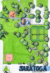Saratoga Community Rendering by Archinos