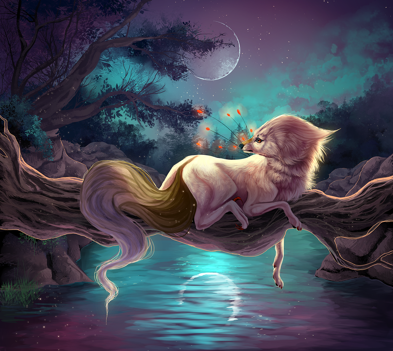 Goodnight Moon by Llassie