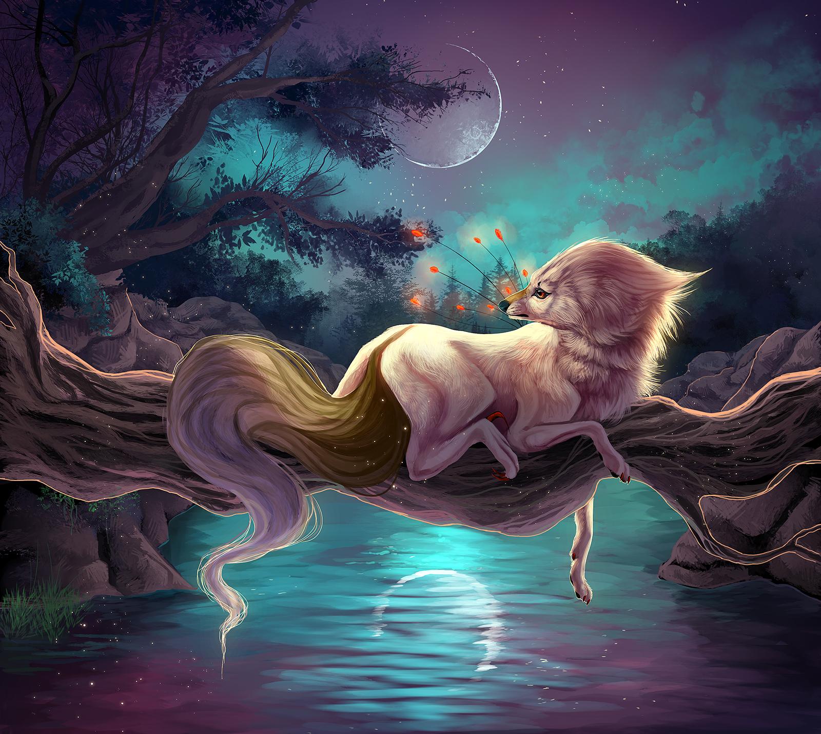 Goodnight Moon by Llassie