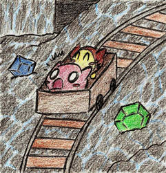 Kirby 64: Riding the Mine Cart
