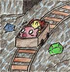 Kirby 64: Riding the Mine Cart