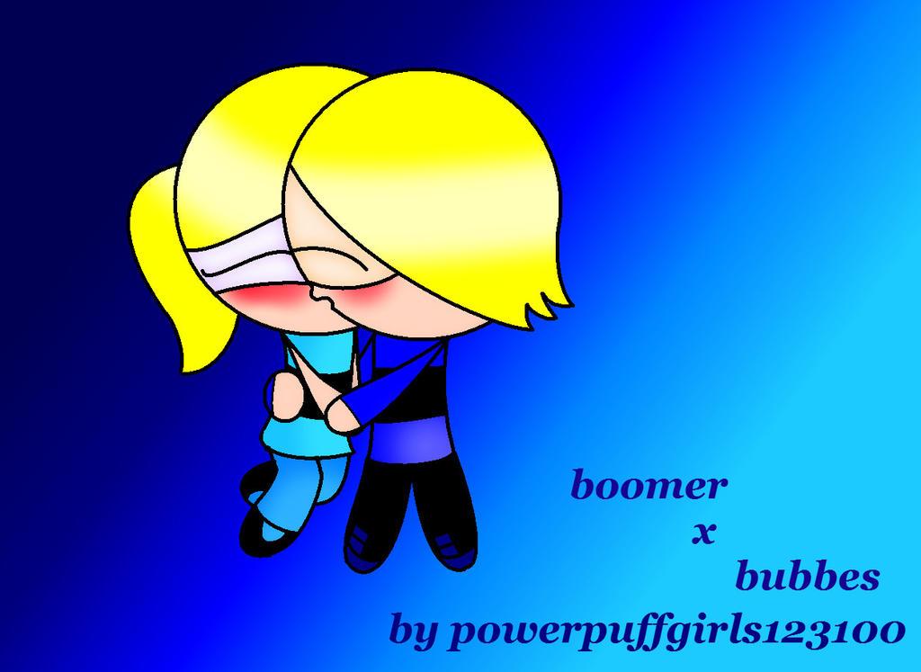Bubbles And Boomer kiss by powerpuffgirls123100 on DeviantArt