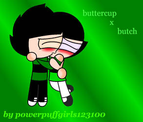 Buttercup And Butch by powerpuffgirls123100