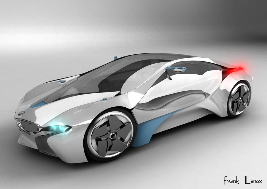 Attractive BMW I8 Concept Car By Franklenox ...