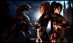 Momiji x Kasumi -Demon's Duo-