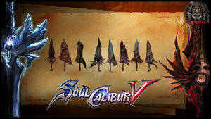 Soul Edge Weapon Pack By Kyle Neaj
