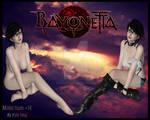 Bayonetta Casual + Nude Model By Kyle Neaj