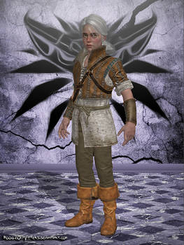 The Witcher 3 - Cirilla Young