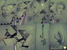 XVIII Wall Eye Panel by JoeySanPedro