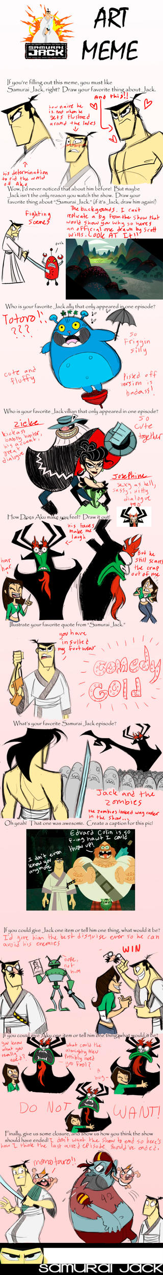 samurai jack meme by Kikoli
