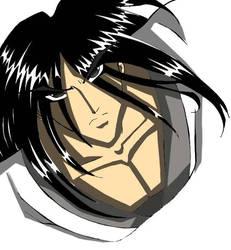 samurai jack anime style by Kikoli