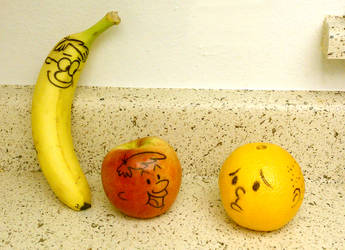Head like a F-ing orange by Kikoli