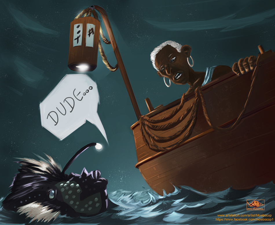 Dude. by Moebocop