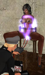 Power on - electrostim torture! by andbond