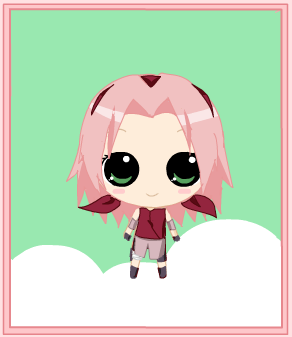 Chibi Sakura by Gothic-Yui