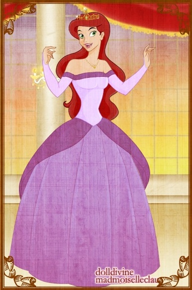 ariel purple dress by butterflycutie77 on deviantart